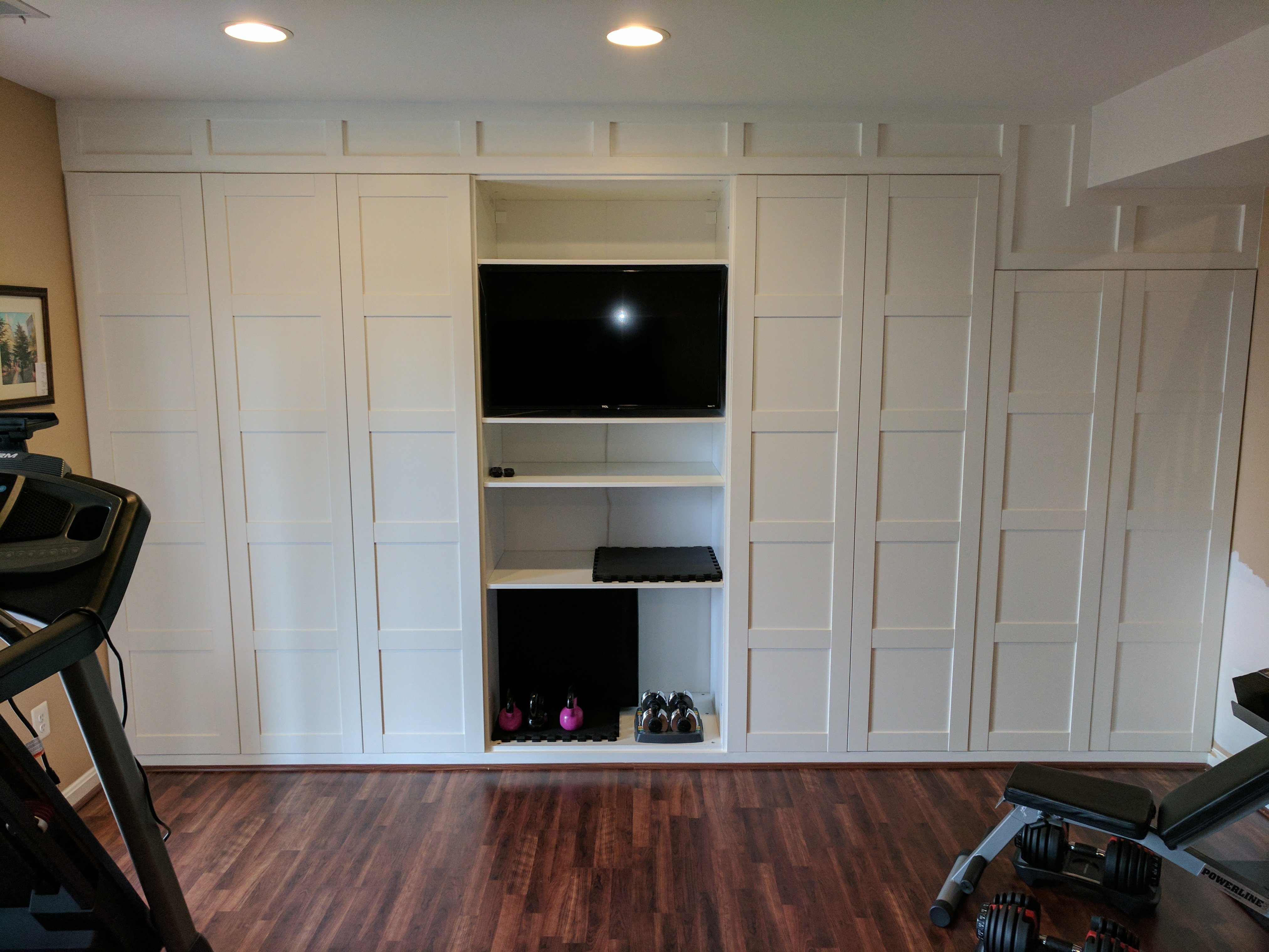 Ikea hack for wall to wall cabinet - Curious Roy